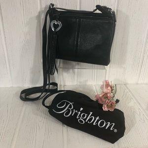 Brighton Barbados Black Leather City Organizer